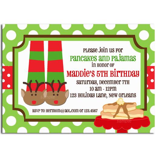 Christmas Pajamas and Pancakes - Reindeer Fun