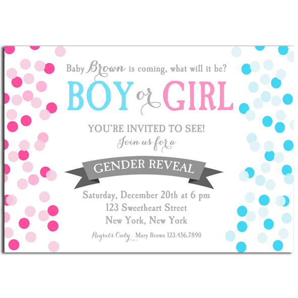 Boy or Girl - Confetti
