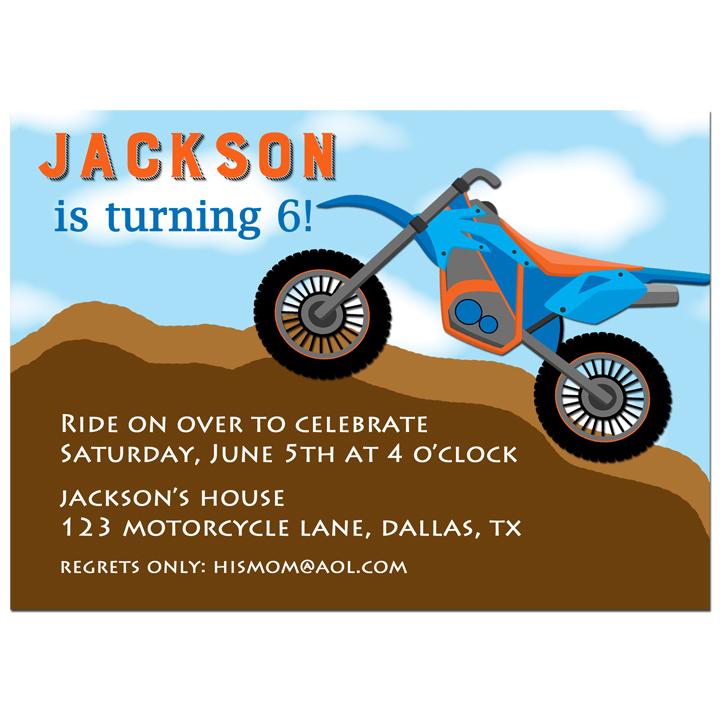Dirt Bike - Motorcycle