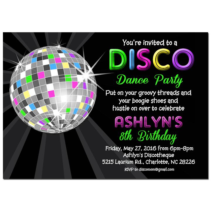 Disco Ball Neon Collection