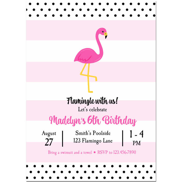 Pink Flamingo Preppy Collection