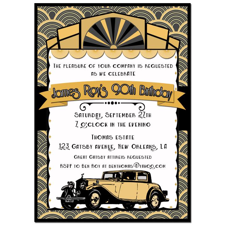 Art Deco Antique Car