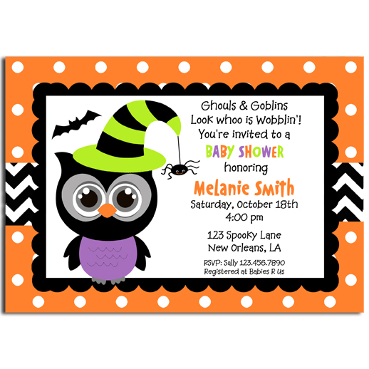 Halloween Owl Witch Hat