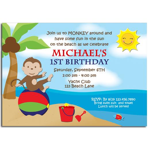 Monkey Beach Party