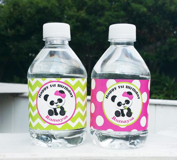 Panda Girl Baby Shower
