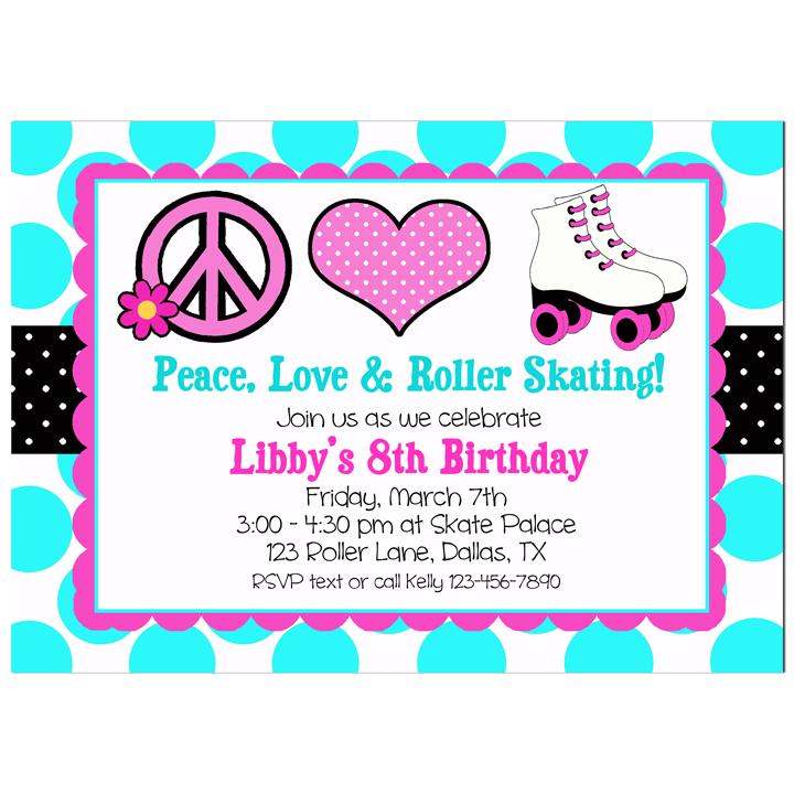 Peace, Love, Roller Skating