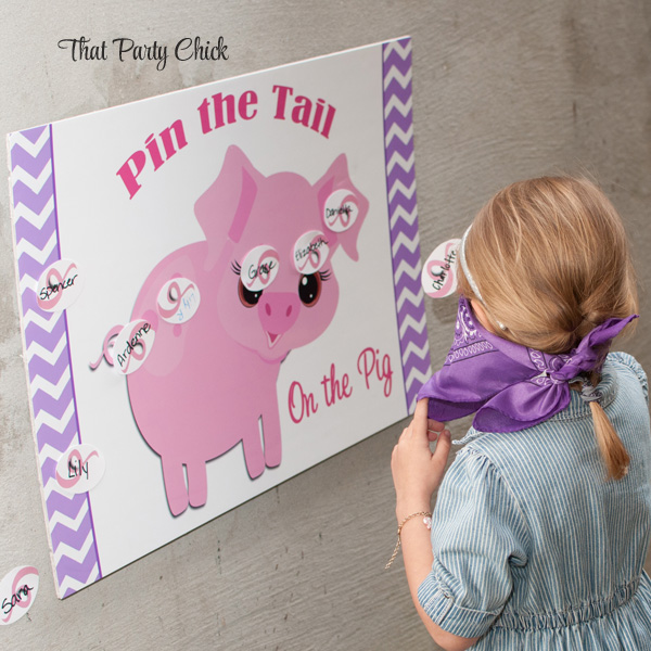 Pink and Purple Pig Collection