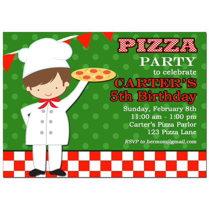 Boy's Pizza Party - Pizzeria Party Collection