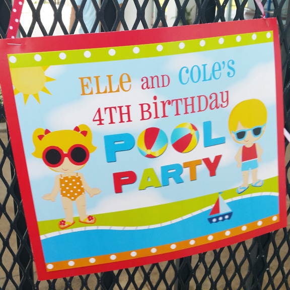 Pool Party Sibling Collection
