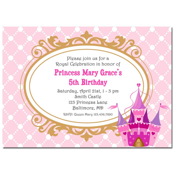 Pink Princess Castle - Royal