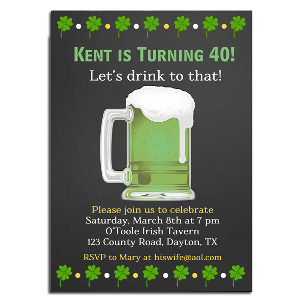 St. Patty's Green Beer