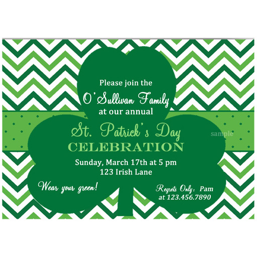 St. Patrick's Green Chevron