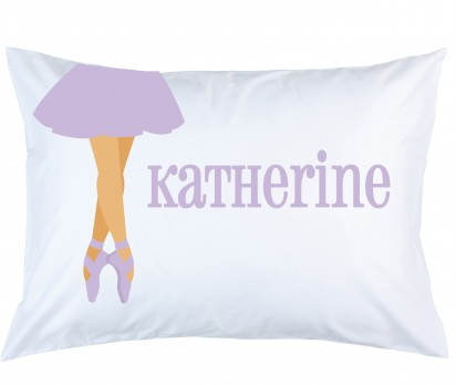 Personalized Dance/Ballet Pillow Case