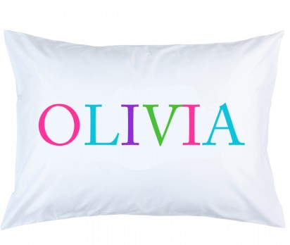 Personalized Name Pillow Case