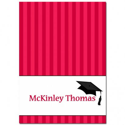 Graduation Party Thank You Note - Any School Colors