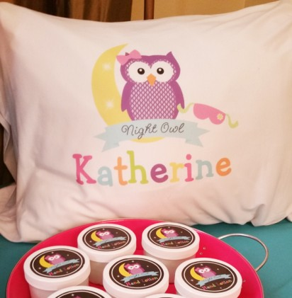 Personalized Night Owl Pillow Case