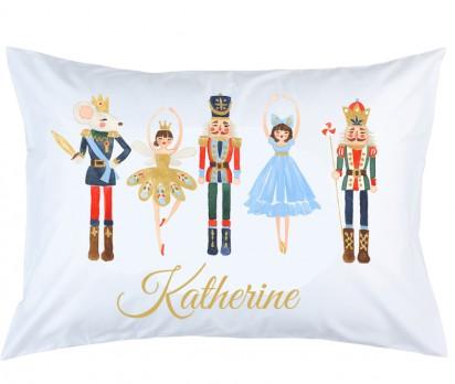 Personalized Nutcracker Pillow Case