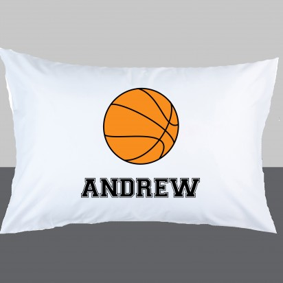 Personalized Basketball Pillow Case
