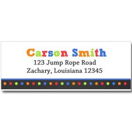 Jump Trampoline Party Return Address Labels