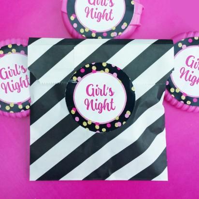 Girl's Night Favor Tags