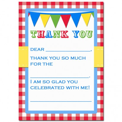 Country Fair Thank You Note - Country at Heart Collection