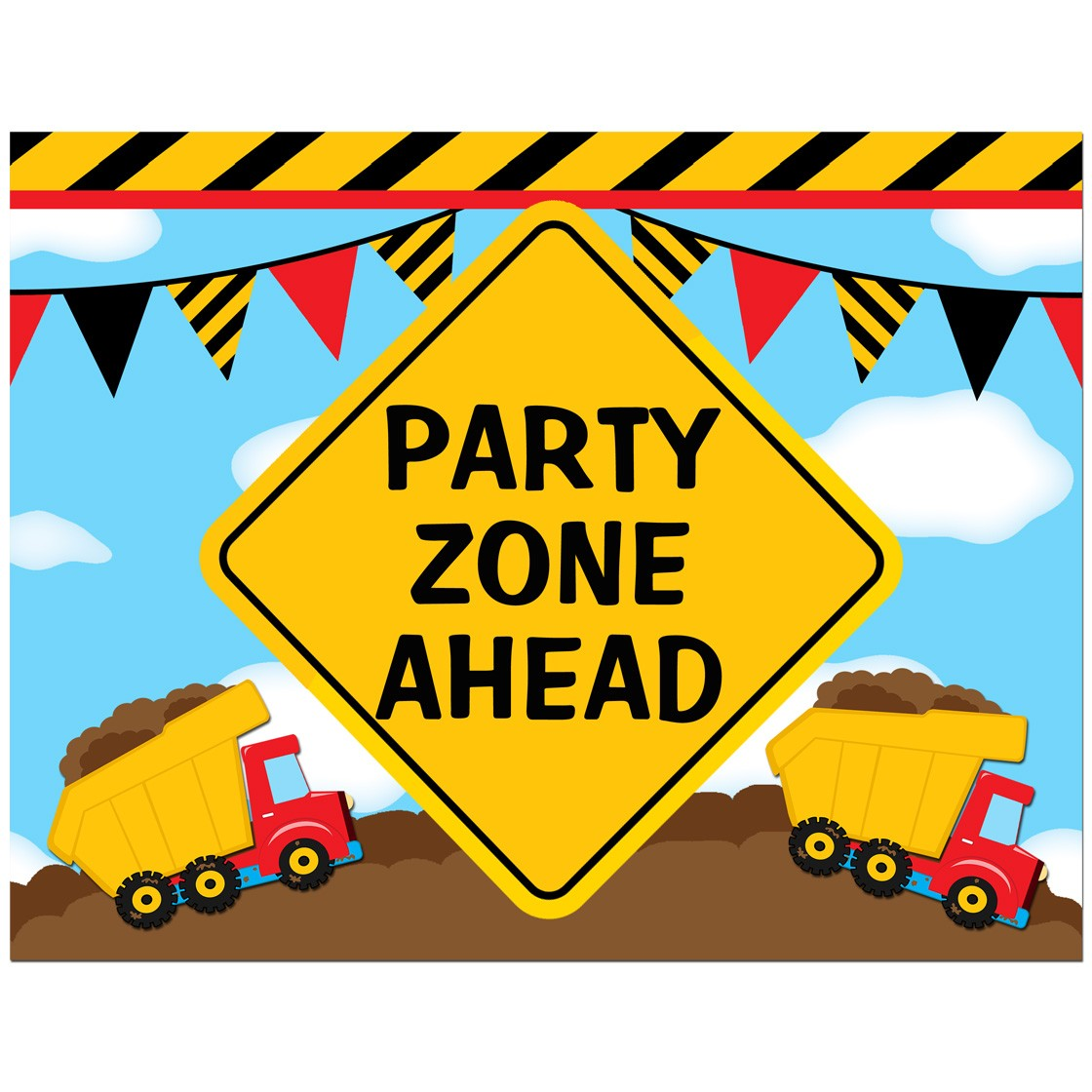 picture regarding Free Printable Construction Party Signs known as Structure \