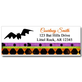 Whimsy Halloween Return Address Labels By That Party Chick Whimsical Chic