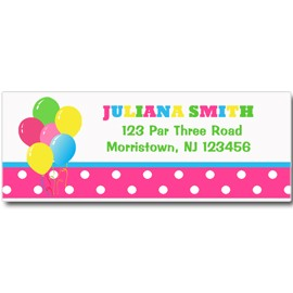 girl s golf return address labels by that party chick golf girl