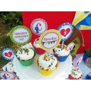 Country Fair Cupcake Toppers
