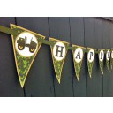 Camouflage Military Happy Birthday Banner