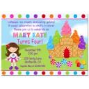 Ice Cream Candy Party Invitation - Sweet Dream Birthday