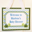 Turtle Personalized Welcome Sign