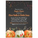 Fall Pumpkin Party Invitation