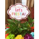 """Let's Fiesta"" Centerpiece Topper"