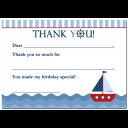 Sailboat Thank You Notes