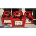 Hollywood Glamour Red Carpet Movie Favor Tag