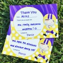 Football Player Thank You Notes