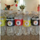 Hollywood Movie Red Carpet Water Bottle Labels