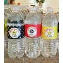 Hollywood Glamour Red Carpet Movie Water Bottle Labels