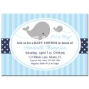 Boy Whale Invitation - The Preppy Collection