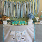 Vintage Stroller Baby Shower  -   It's a Boy!