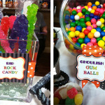 Halloween Candy Bar Birthday Party